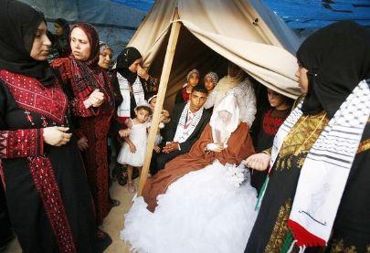 في فلسطين.. الزواج ممنوع حتى إشعار آخر!!  3245092093053417344